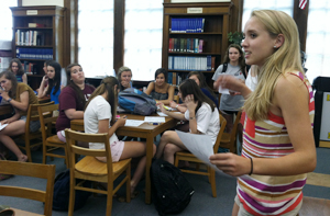 Service clubs welcome new presidents