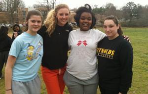 Meeks returns to softball diamond with 'great group of girls'