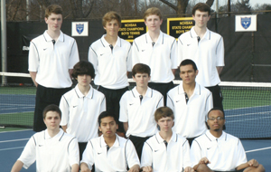 New coach leads men's tennis in search of fourth straight NCHSAA championship