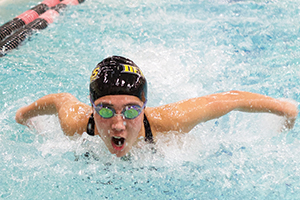 Gracie Nicklas-Morris was born to be a swimmer