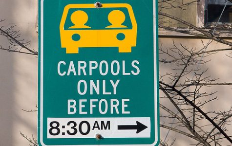 Carpooling saves the earth and your sanity