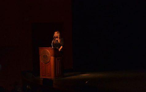 Laverne Cox brings a powerful message to Wait Chapel