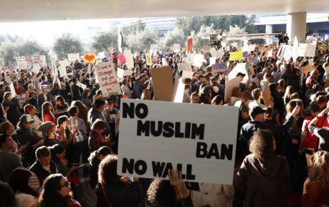 President Trump orders 90 day 'Muslim ban'