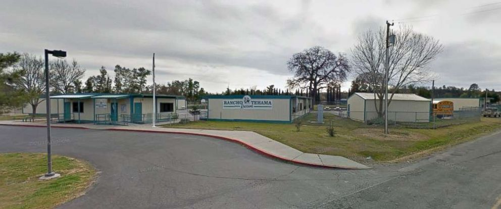 The scene of the shooting at a California elementary school.