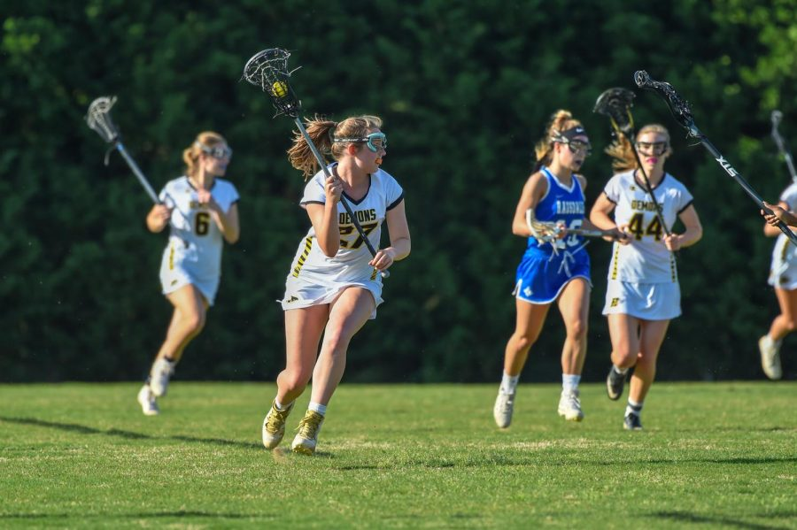 Girls Lacrosse Reaches Historic Final Four