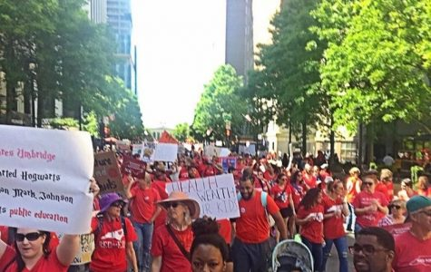 Teachers march for change