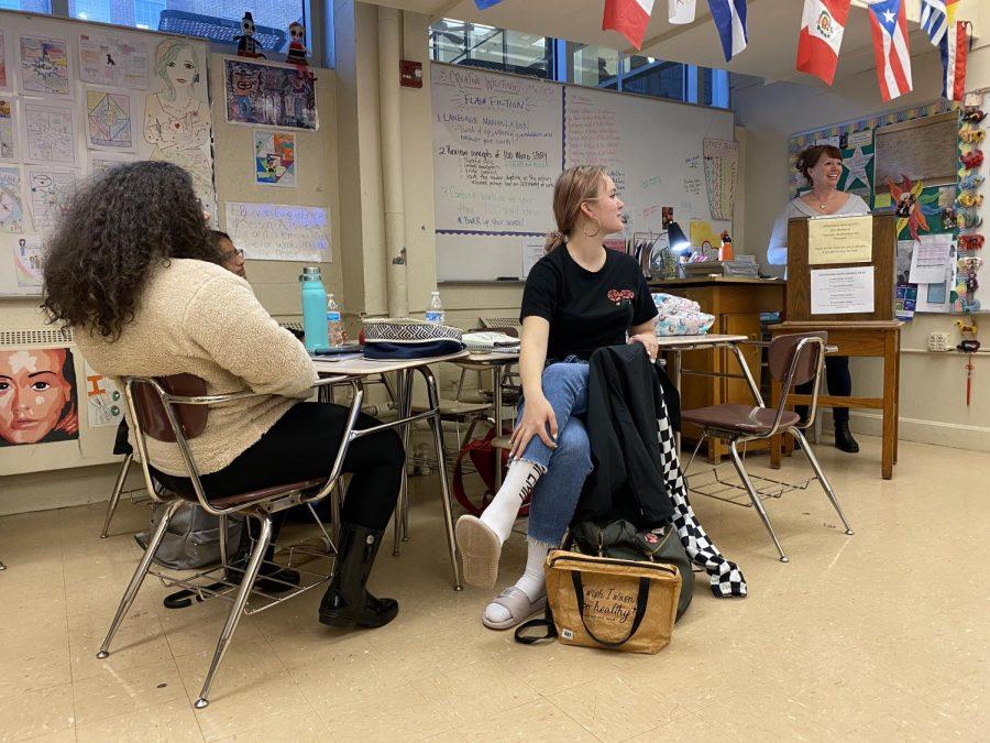 A Jolly writing class